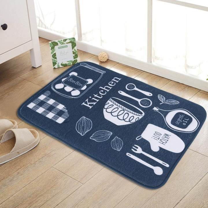 60 x 40cm Cute Non Slip Doormat Bathroom Kitchen Floor Mat ...