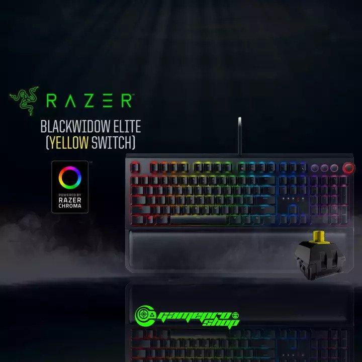 Razer Blackwidow Elite Mechanical Gaming Keyboard Green Switches