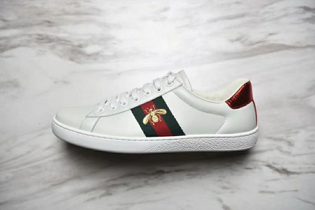 Gucci Ace Bee embroidered. - Price in