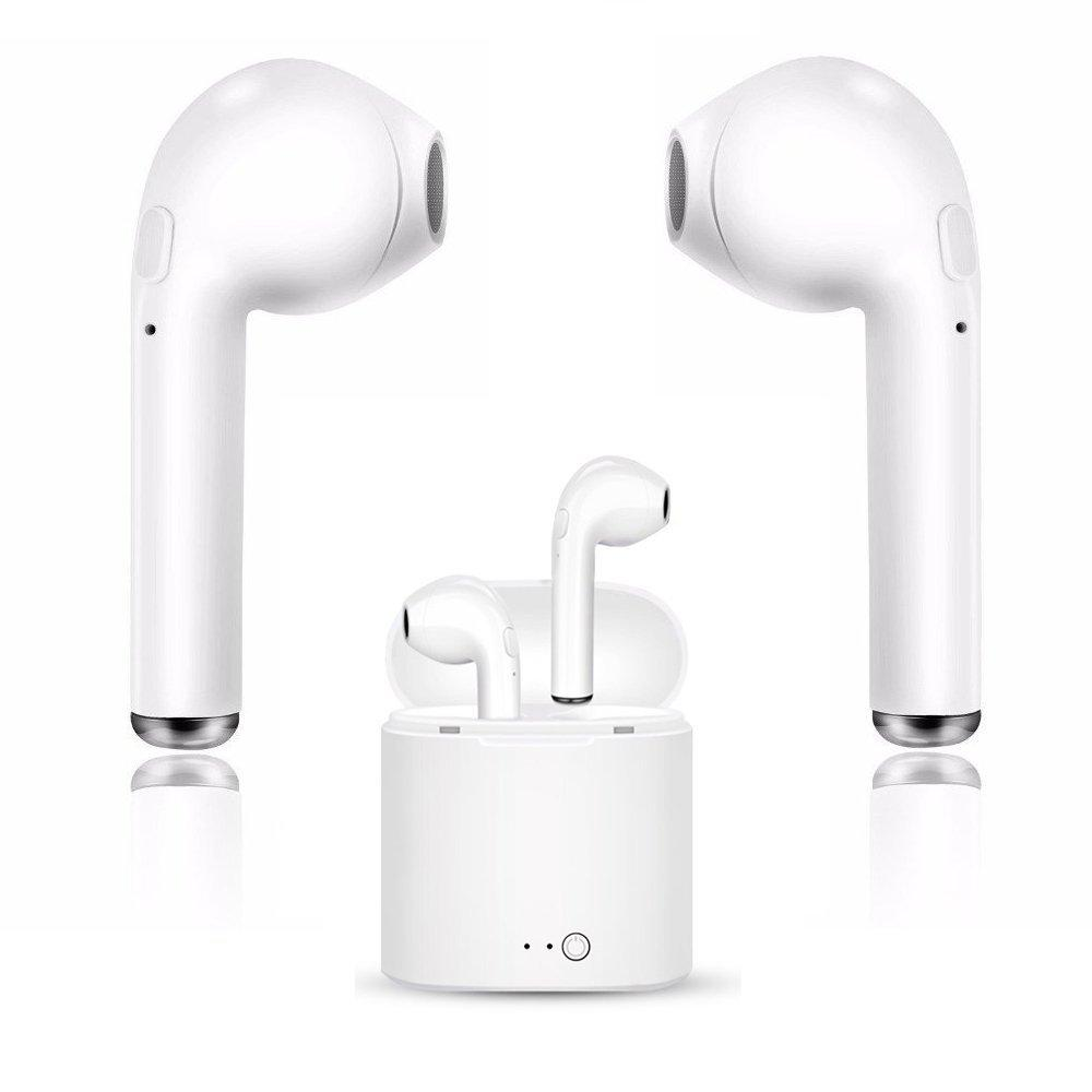 78f88981c70 i7S TWS Bluetooth Earbuds – AirPods Knock-Off Ear Earpieces Earphones Noise  Cancelling With Charging