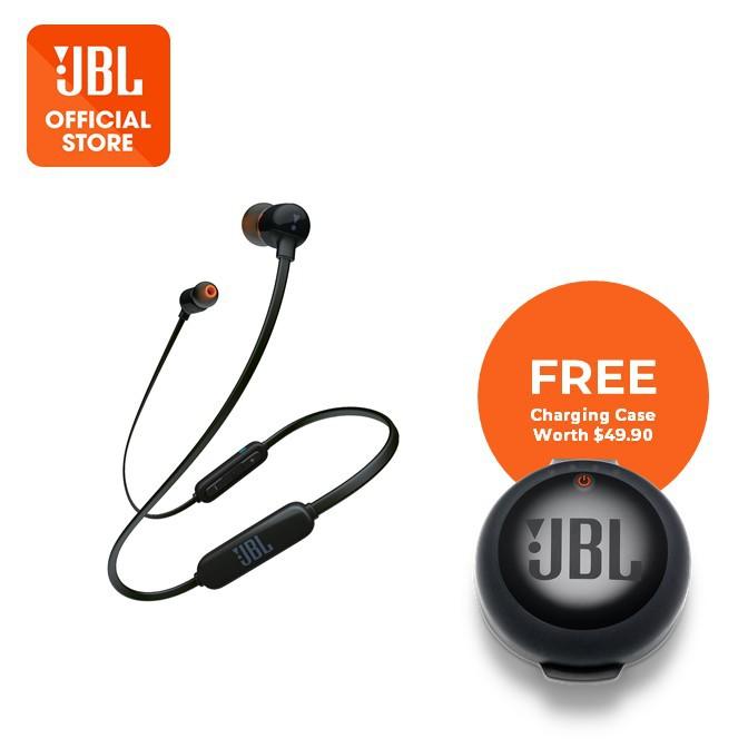 JBL T110BT Wireless In-Ear Headphones Black - Price in