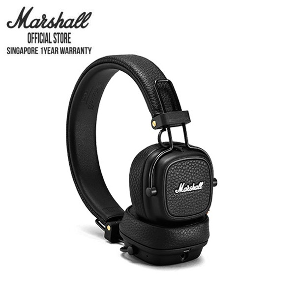 Marshall Major III Bluetooth Black Headphone