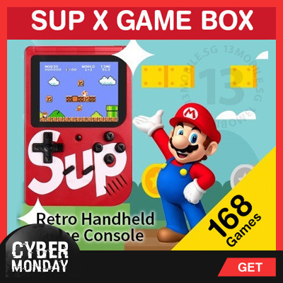 Sup X Game Box Retro Handheld Game Console Emulator Built-In 168 Old Time  Classic Games - Price in Singapore  5bd7ce48ec