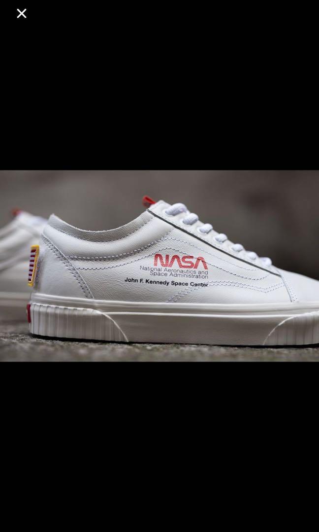 d772670b615d WTS US 9 Vans x NASA space voyager true white old skool - Price in  Singapore