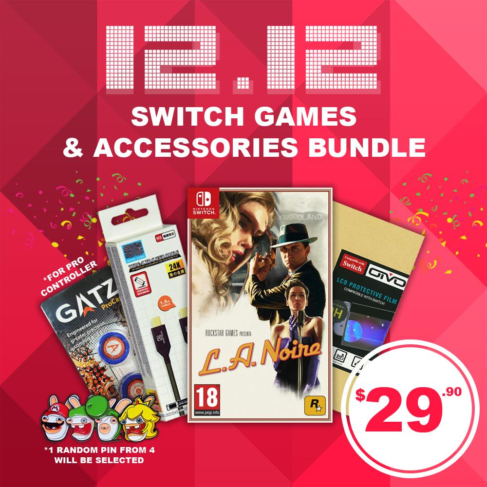 12 12 Crazy Nintendo Switch Game Amp Accessories Bundle
