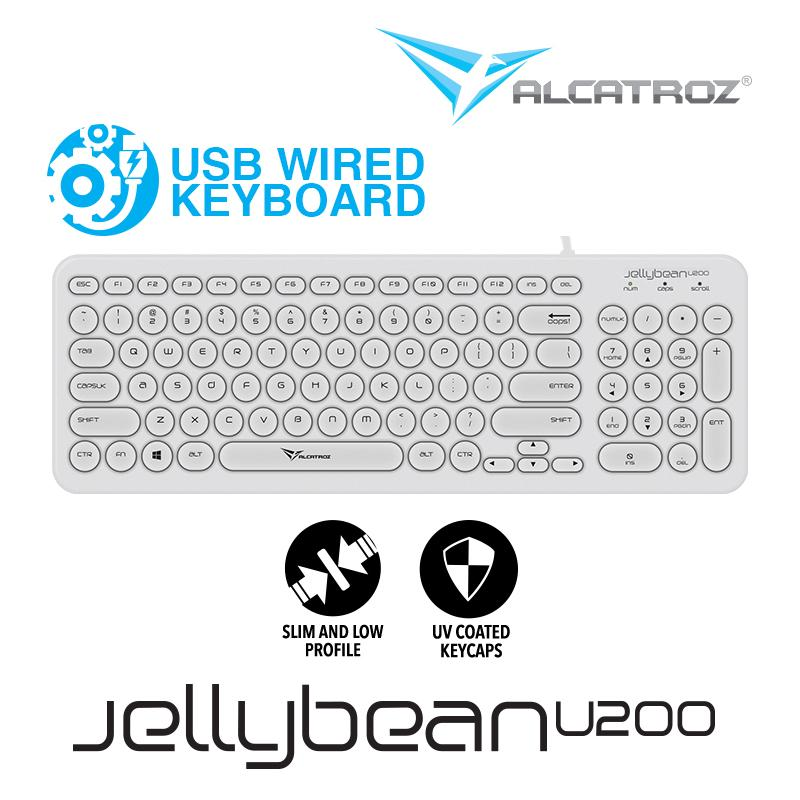 alcatroz usb wired keyboard jellybean u200 price in singapore. Black Bedroom Furniture Sets. Home Design Ideas