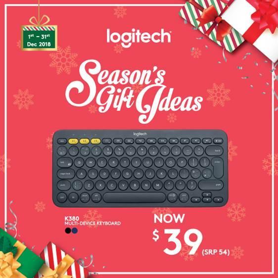 Logitech K380 Black Slim Multi-Device Bluetooth Keyboard