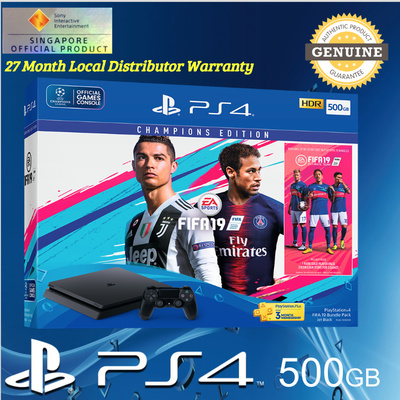PS4 500GB FIFA 19 Bundle with 3 Months PS Plus and 27 ...
