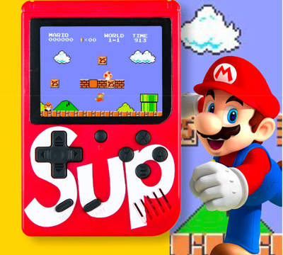 Sup X Game Console Emulator built-in 400 games box Video Handheld Console  Best Christmas Present
