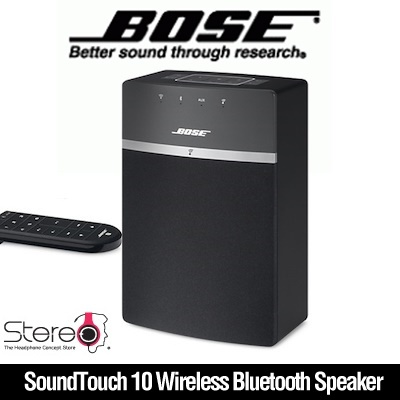 BOSE SoundTouch 10 Wireless Bluetooth Speaker Mini Portable Music Deep Bass  Stereo Sound AUX Home