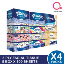 Kleenex[Kimberly Clark] Kleenex 3-Ply Tissue Paper *BUNDLE OF 4*