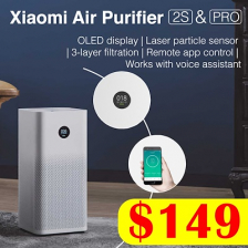 XIAOMI Air Purifier 2S // Pro OLED Screen Display Control by SmartPhone App