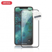 MRYES iPhone 12 / 12 Pro / 12 Mini / 12 Pro Max / 11 / 11 Pro / 11 Pro Max Dust Proof Tempered Glass Screen Protector for iPhone XS / X / XR / XS Max