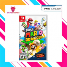 Nintendo Switch Super Mario 3D World + Bowsers Fury – Release on 12th Feb 2021