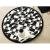 Round Diamond Mat 1.1m – Black